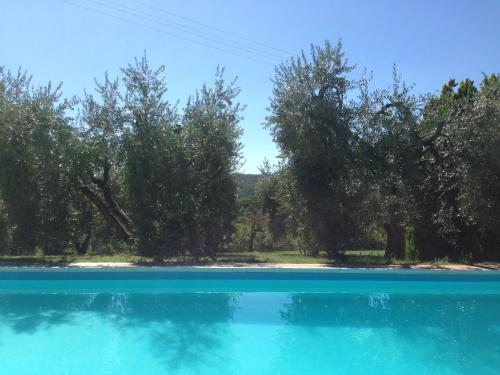 The swimming pool at or near Agriturismo Villa Panorama