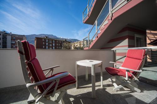 Balcone o terrazza di Piazzi House