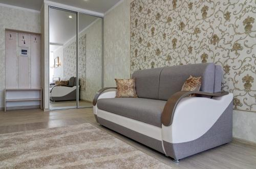 Гостиная зона в New apartamenty na Plekhanova 14