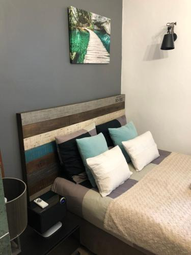 A bed or beds in a room at Appartement Luxembourg