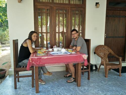 Guests staying at Harini Villa