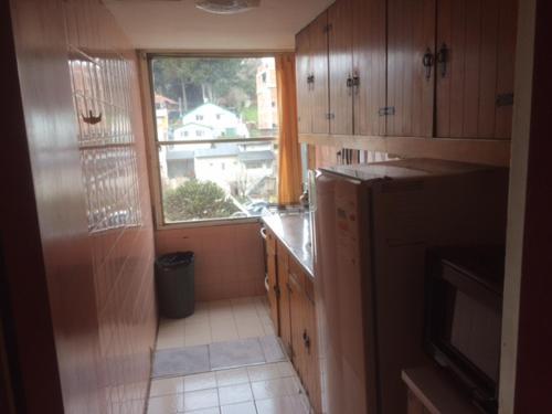 Una cocina o kitchenette en Departamento Cívico Bariloche