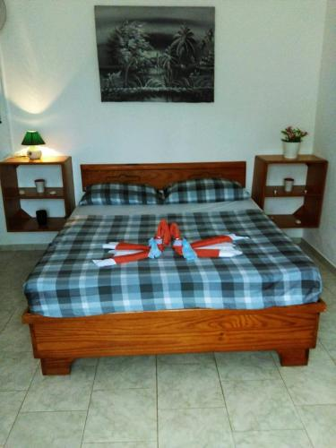 A bed or beds in a room at Casa Picadilly