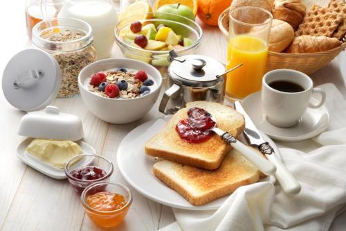 Frühstücksoptionen für Gäste der Unterkunft Piazza Roma Rooms