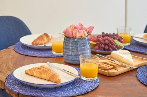 Breakfast options available to guests at Avenida da Liberdade Apartment