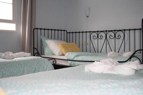Cama o camas de una habitación en Aceró