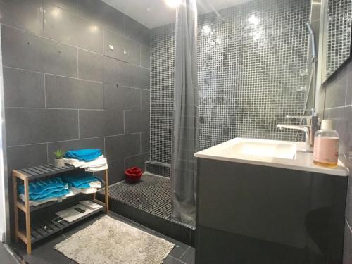 A bathroom at 130 M2 Grand Paris Rer à 5 mn