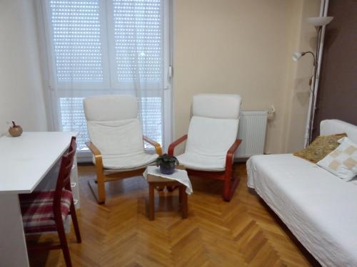 Area soggiorno di Centrum Apartment2
