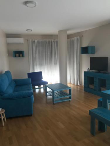 """Zona de estar de Apartamento Turístico """"El Yugo"""""""