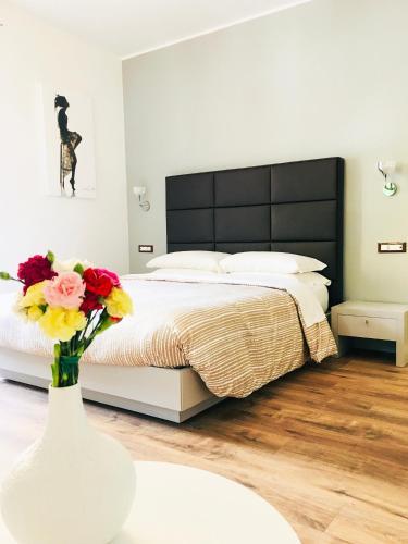 Cama o camas de una habitación en Residenza della Conciliazione