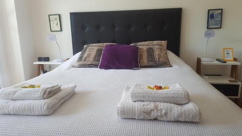 Lova arba lovos apgyvendinimo įstaigoje Tango Cozy Estudio Luminoso WiFi