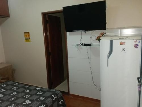 A television and/or entertainment center at Flat Stival Bueno