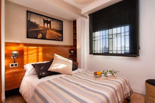 Postel nebo postele na pokoji v ubytování Villa Thosima over Cathedral