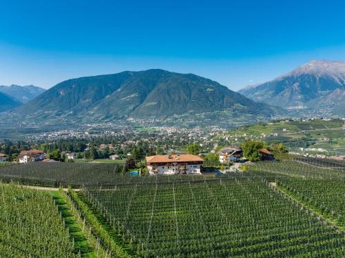 Vista generica sulle montagne o vista sulle montagne dall'interno del residence