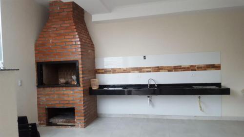 A kitchen or kitchenette at Condominio SILVA cantero