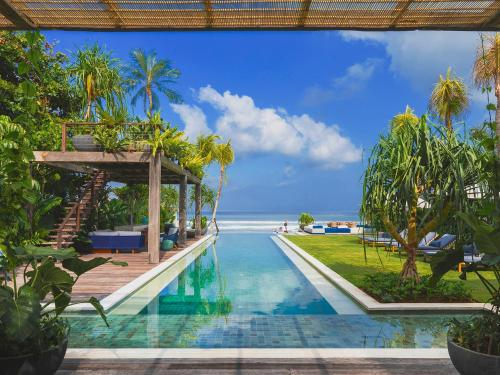 The swimming pool at or near Noku Beach House - an elite haven
