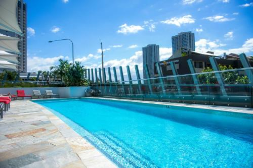 The swimming pool at or near Sensational Ocean View Apt by Hostrelax GCRDW0P4