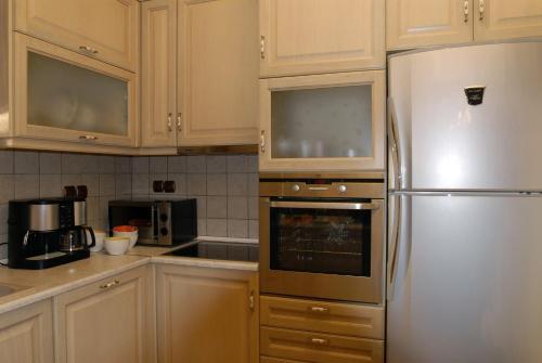 Η κουζίνα ή μικρή κουζίνα στο Miression Holiday House