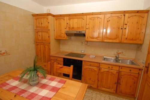 Cuisine ou kitchenette dans l'établissement Baita Guana