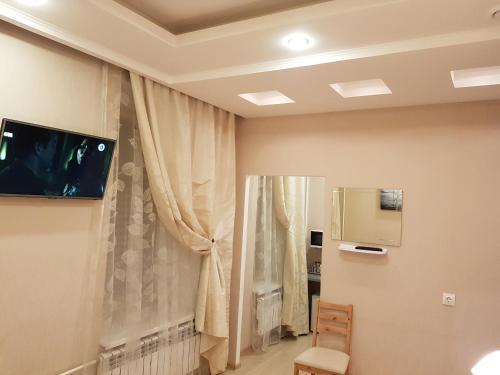 A bathroom at Petrogradka