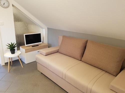 Predel za sedenje v nastanitvi 4 seasons apartment Radovljica
