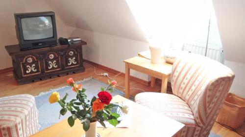Coin salon dans l'établissement Zu den Linden