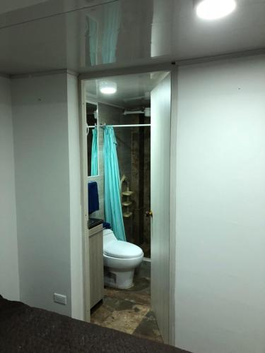 A bathroom at Apt nororiente 203