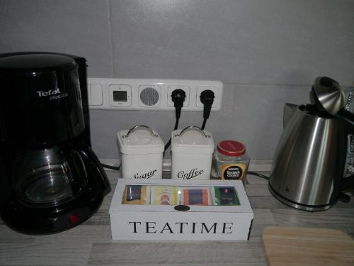 Ferienwohnung im Neubauernweg tesisinde kahve veya çay yapma olanakları