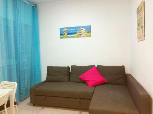 Zona de estar de Enjoy Malaga Apartamentos Conde