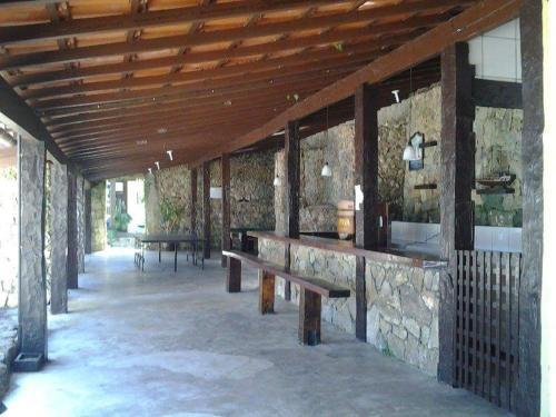 The lounge or bar area at Casa Angra Itanema