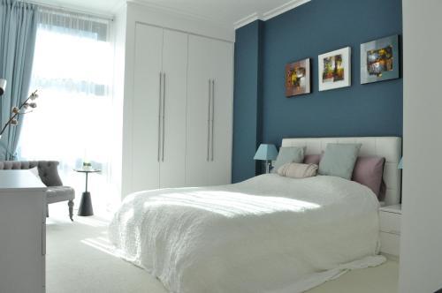 Ein Bett oder Betten in einem Zimmer der Unterkunft 1 Bedroom Apartment in the heart of Canary Wharf