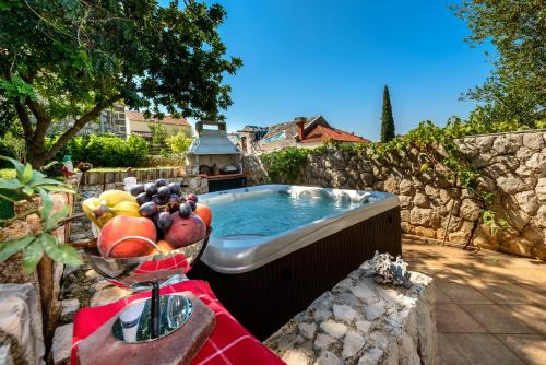 The swimming pool at or near Holiday Home Borna