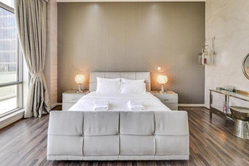 A bed or beds in a room at GuestReady - SouthRidge