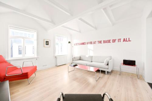 Setusvæði á Luna Apartments - Laugavegur 37