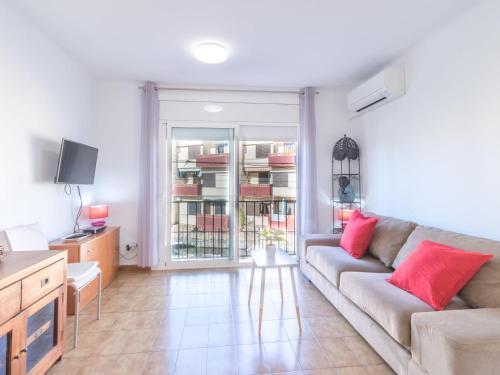 A seating area at Apartment Porto Fino