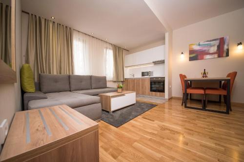 Гостиная зона в Hotel Mons
