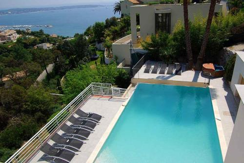 A view of the pool at Golfe-Juan Villa Sleeps 14 Pool or nearby