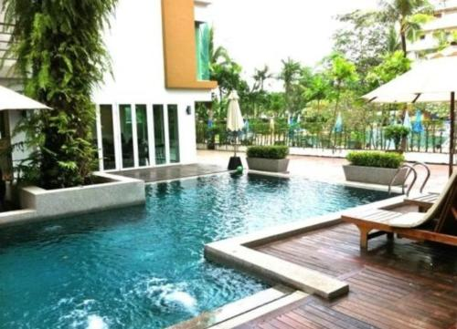 The swimming pool at or close to Haven Lagoon Condominium