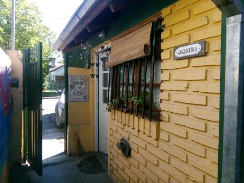 La fachada o entrada de La Casa De La Abuela