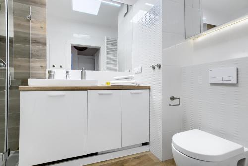 Kylpyhuone majoituspaikassa Apartament 222 Apartamenty No.1