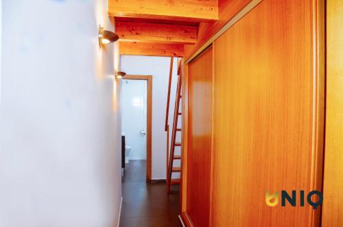 Baðherbergi á Apartamentos Con Terraza San Francisco De Borja