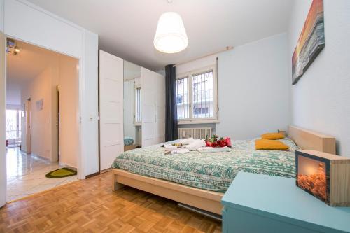 Ein Bett oder Betten in einem Zimmer der Unterkunft Pazzallo Apartment Sleeps 3