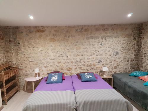 Un ou plusieurs lits dans un hébergement de l'établissement Home St. Germain