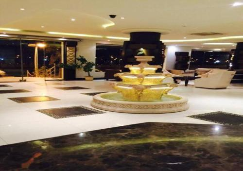 The lobby or reception area at Rest Night Hotel Suites- AL Falah