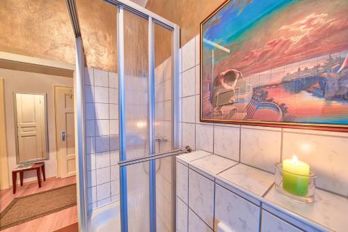 Apartment Fichtenstrasse 욕실