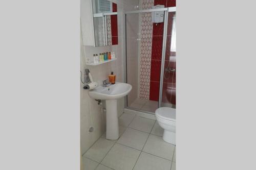 Ванная комната в Berce Apartments
