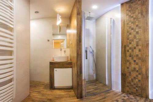 Łazienka w obiekcie Bastówka Apartamenty