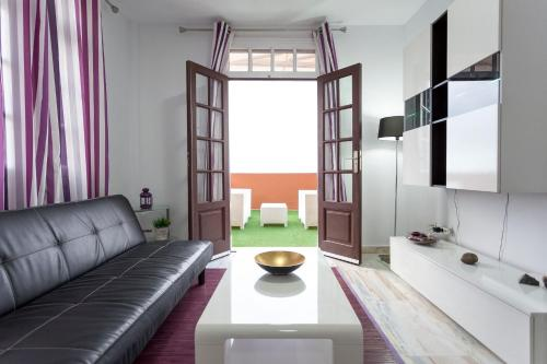 Zona de estar de Pier 1 Apartment