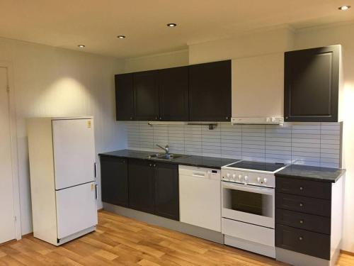 Кухня или мини-кухня в Ilevegen 15