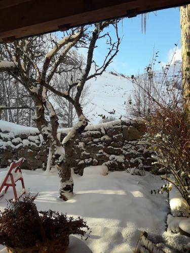 Posada Real El Rincón de Babia en invierno